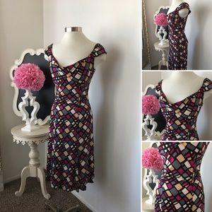 🌺 Diane Von Furstenberg Fabulous Print Silk Dress